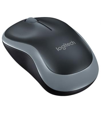 Миша комп'ютерна бездротова, Logitech M185 Wireless Mouse Swift Grey
