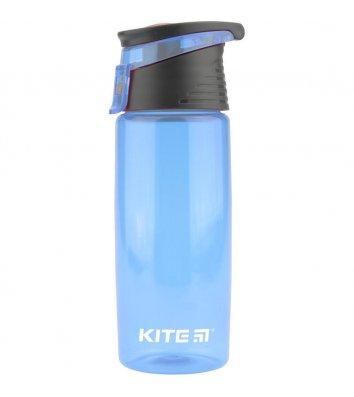 Бутылочка для воды 550 мл голубая, Kite