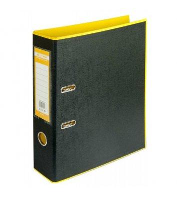 Папка-реєстратор А4 50мм двостороння жовта/чорна Style, Buromax