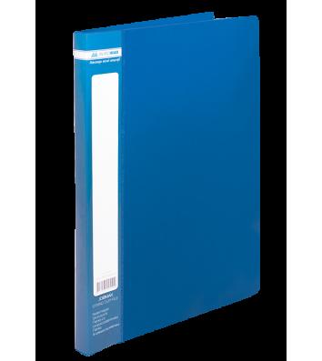 Папка-швидкозшивач А4 пластикова Clip A синя, Buromax