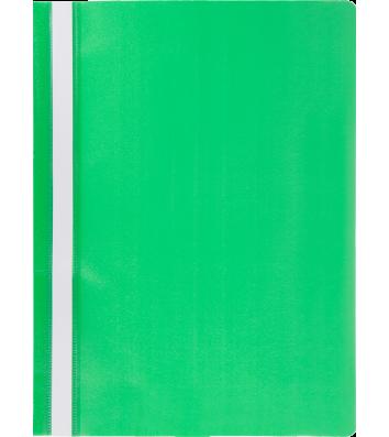 Папка-швидкозшивач А4 без перфорації, фактура матова зелена, Buromax