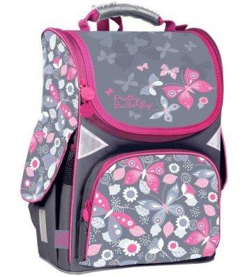 Рюкзак каркасний шкільний Butterfly Gopack, Kite