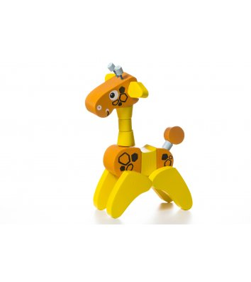 Іграшка розвиваюча Жираф-акробат, Cubika