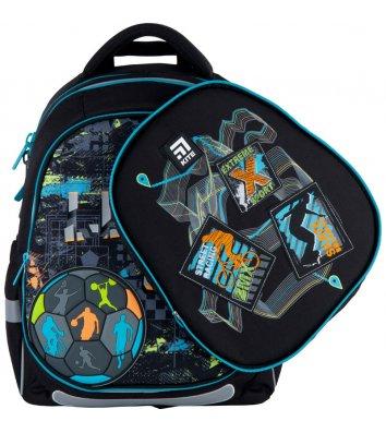 Рюкзак каркасний шкільний Let's go, Kite