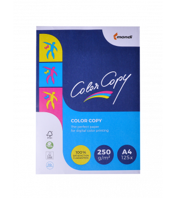 Папір щільний А4 250г/м2 125арк Color Copy, білий