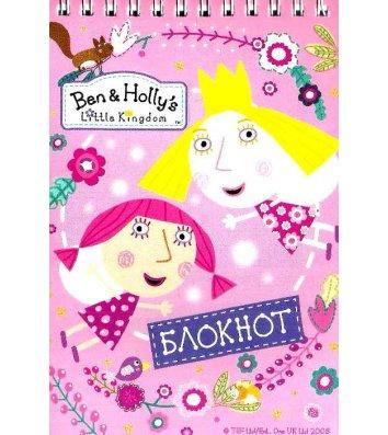 """Блокнот В6 32л """"Ben&Holly's"""" ассорти верхняя спираль, Перо"""