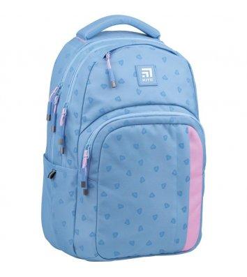 """Папка B5 картонна на гумці для зошитів """"Barcelona"""", Kite"""