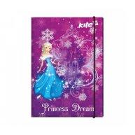 Папка для праці А4 на гумці ламінований картон Princess Dream, Kite