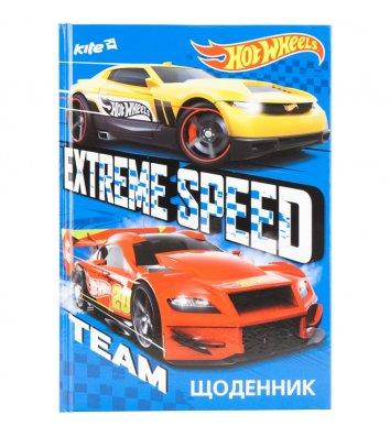 """Дневник школьный А5 48л """"Hot Wheels"""", Kite"""