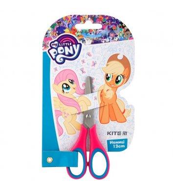"""Ножиці дитячі 13см ручки з гумовими вставками """"Little Pony"""", Kite"""