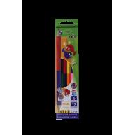 Олівці кольорові  6шт 12 кольорів двосторонні Double, Zibi