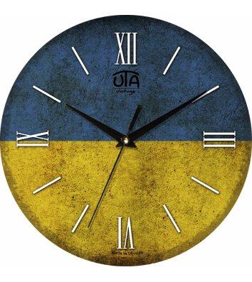Годинник настінний 016VT Vintage, Uta