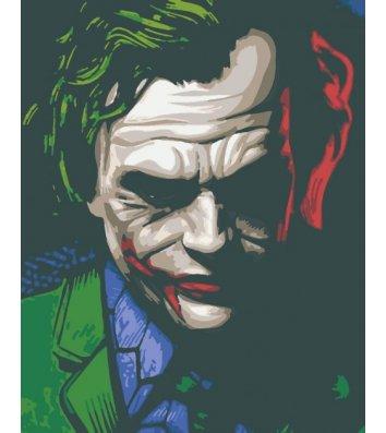 "Картина по номерам ""Джокер"" 40*50см, Riverа Blanca"