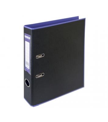 Папка-реєстратор А4 50мм двостороння фіолетова/чорна Style, Buromax