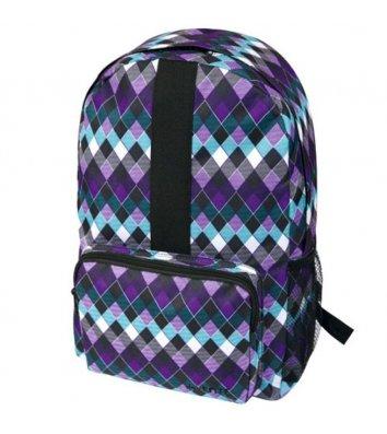 Рюкзак молодежный Simple Purple Abstract, Zibi