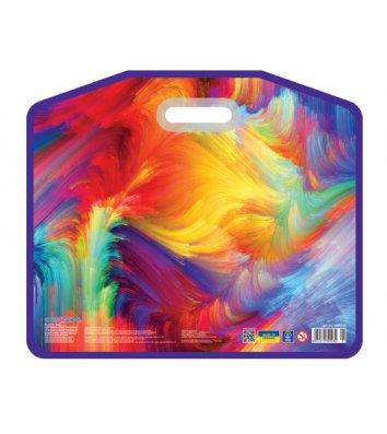 """Портфель А3 пластиковий на липучці """"Colourful"""", Cool for School"""