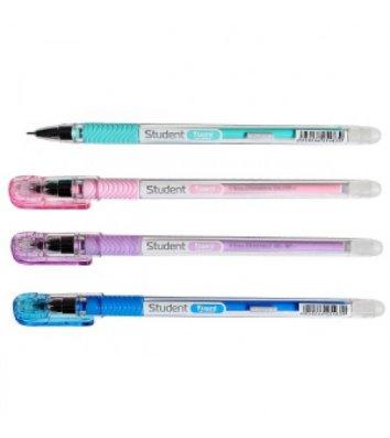 Ручка гелевая пиши-стирай Student, цвет чернил синий 0,5мм, Axent
