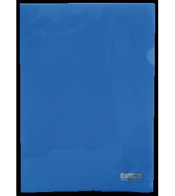 Папка-куточок А4 пластикова  Jobmax синя, Buromax