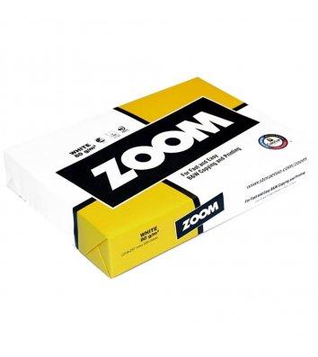 Бумага офисная А5 80г/м2 500л класс С Zoom, белая