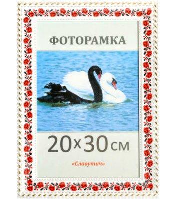 Фоторамка 21*30см з червоним орнаментом