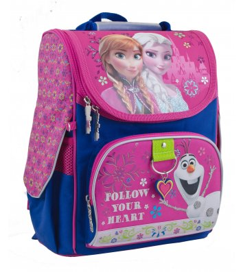 """Рюкзак каркасний шкільний """"Frozen"""", 1 Вересня"""