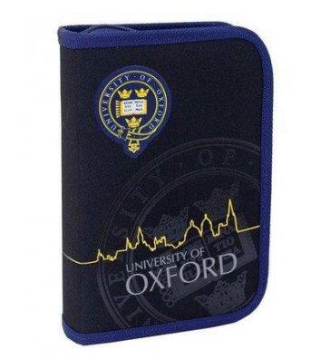 Пенал твердий 1 відділення 2 відвороти на блискавці Oxford, Yes