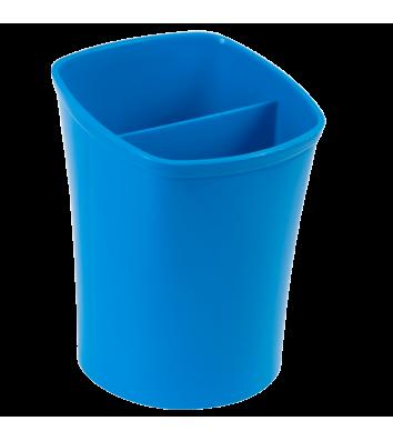 Підставка канцелярська пластикова синя Kvadrik, Zibi