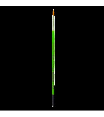 Пензлик  №3  синтетика (нейлон) круглий
