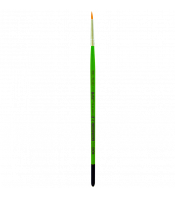 Пензлик  №2  синтетика (нейлон) круглий
