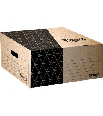 Короб архивный коричневый, Axent