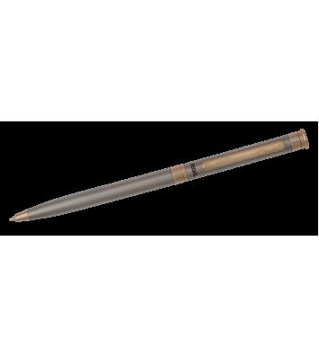 Ручка кулькова, колір корпусу сталевий, Regal
