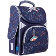 Рюкзак каркасный  школьный GoPack Education Spaceship, Kite