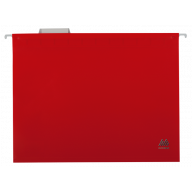 Файл подвесной А4 пластиковый красный, Buromax