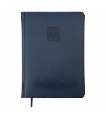 Ежедневник датированный A5 2021 Bravo (Soft) синий, Buromax