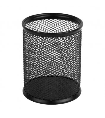 Підставка канцелярська металева чорна, Axent