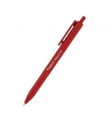 Ручка масляная автоматическая Reporter, цвет чернил красный 0,7мм, Axent