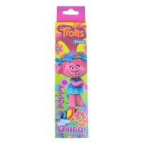 """Олівці кольорові  6шт тригранні """"Trolls"""", 1 Вересня"""