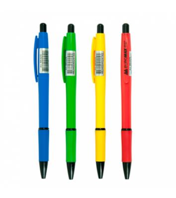 Ручка шариковая автоматическая 0,7мм, Buromax