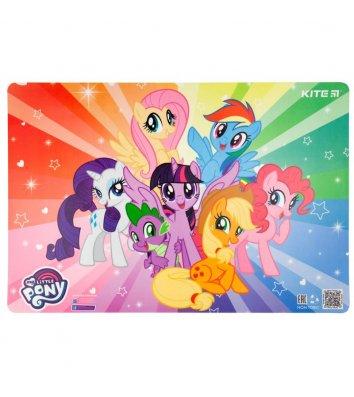 """Килимок для дитячої творчості  А3 пластиковий """"Little Pony"""", Kite"""