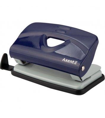 Діркопробивач  10арк корпус металевий колір синій Exakt, Axent