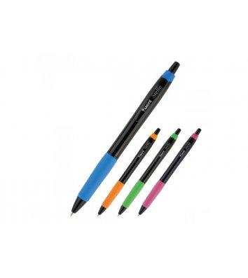 Ручка масляна автоматична Stella колір чорнил синій 0,7мм, Axent