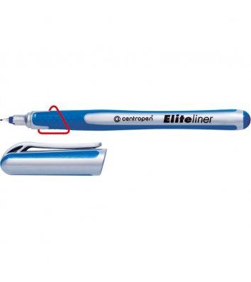 Лайнер 4721 F Elite, колір чорнил синій 0,3мм, Centropen