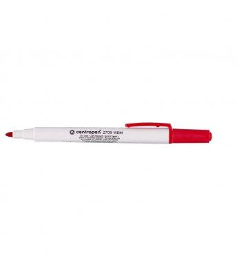 Маркер для досок 2709, цвет чернил красный 1-2 мм, Centropen