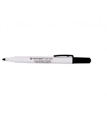 Маркер для дошок 2709, колір чорнил чорний 1-2 мм, Centropen