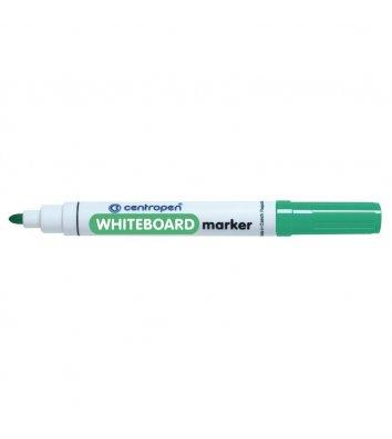 Маркер для досок, цвет чернил зеленый 2,5мм, Centropen