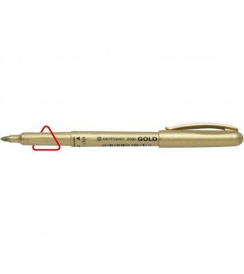 Маркер 2690, колір чорнил золотистий 1,5-3мм, Centropen