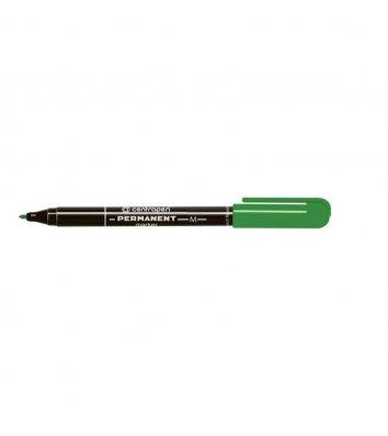 Маркер перманентний 2846, колір чорнил зелений 1мм, Centropen