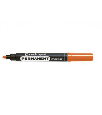 Маркер перманентний 8566, колір чорнил помаранчевий 2,5мм, Centropen