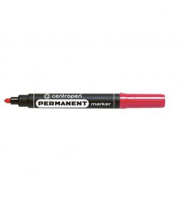 Маркер перманентний 8566, колір чорнил червоний 2,5мм, Centropen