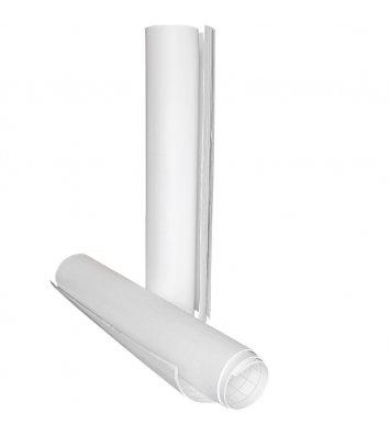 Блокнот для флипчарта 20л 640*900мм белый нелинованный, Axent